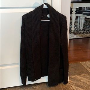 Black oversized a new day sweater from target